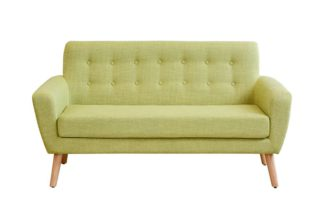 An Image of Sexton 2 Seater Sofa, Retro Green