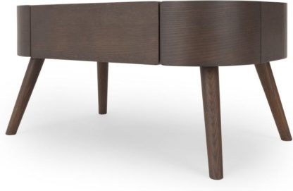 An Image of Ada Coffee Table, Dark stain Oak