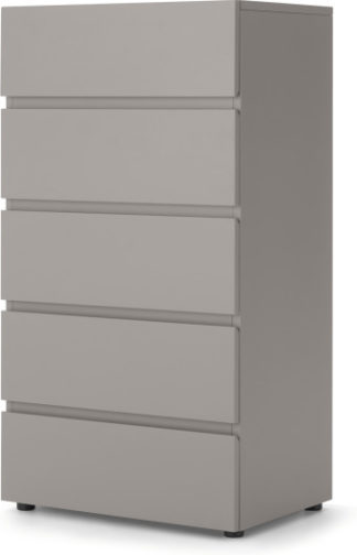 An Image of Senisa Tall Chest Of Drawers, Grey