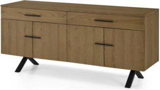 An Image of Sora Sideboard, Smoked Oak