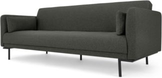 An Image of Harlow Click Clack Sofa Bed, Hudson Grey