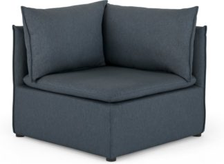 An Image of Victor Modular Sofa Corner Seat, Lido Blue