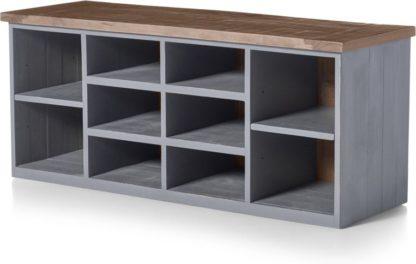 An Image of Iona Hallway Storage, Grey and Pine