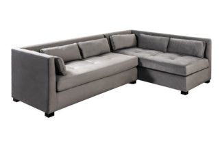 An Image of Berkley Right Hand Corner Sofa - Dove Grey