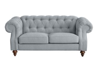 An Image of Buster 2 seat sofa Malaga Steel