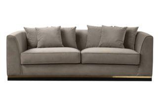An Image of Pino Three Seat Sofa - Taupe