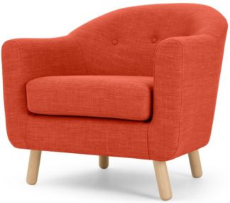 An Image of Lottie Armchair, Tuscan Orange