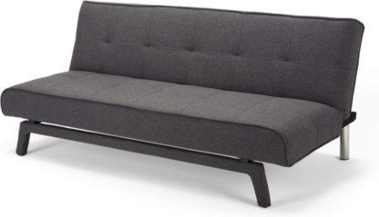 An Image of Yoko Click Clack Sofa Bed, Cygnet Grey