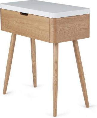 An Image of Leliana Dressing Table, Ash and White