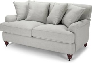 An Image of Orson 2 Seater Sofa, Scatterback, Chic Grey