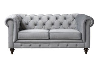 An Image of Monty Two Seat Sofa - Dove Grey