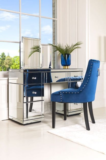 An Image of VALERIA Toughened Mirrored Dressing Table