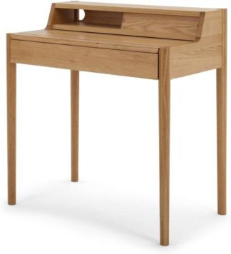An Image of Leonie Compact Desk, Oak