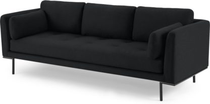 An Image of Harlow 3 Seater Sofa, Elite Slate