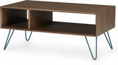An Image of Dotty Coffee table, Dark Stain