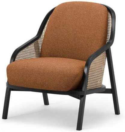 An Image of Anakie Accent Armchair, Dune Orange