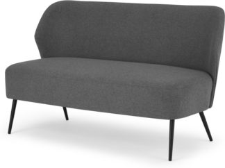 An Image of Topeka 2 Seater Sofa, Marl Grey