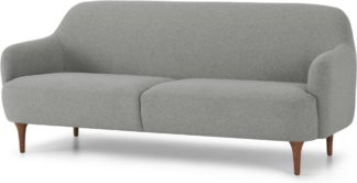 An Image of Lupo 3 Seater Sofa, Mountain Grey