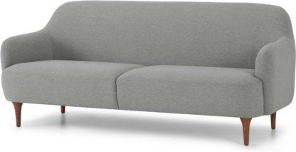 An Image of Lupo 3 Seater Sofa, Mountain Grey