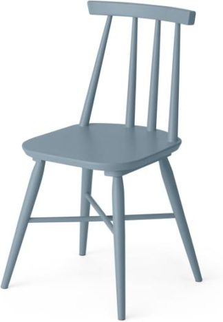 An Image of Bromley Dining chair, Blue