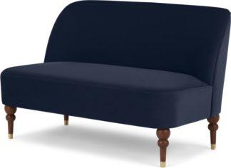 An Image of Harpo 2 Seater Sofa, Interstellar Blue