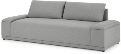 An Image of MADE Essentials Bowen 3 Seater Sofa, Mountain Grey