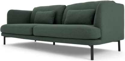 An Image of Herman 3 Seater Sofa, Woodland Green