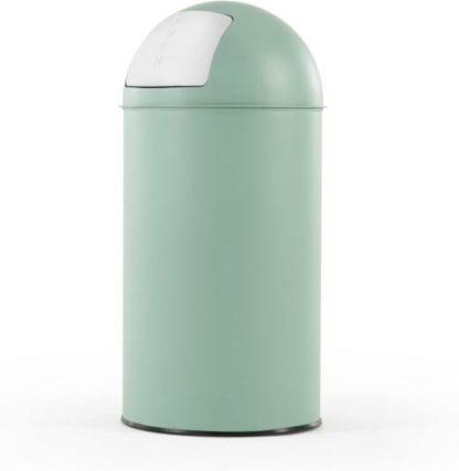 An Image of Rollo Push Bin 50L, Mint