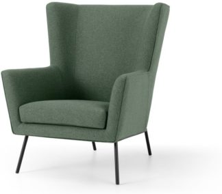 An Image of Egan Accent Armchair, Darby Green