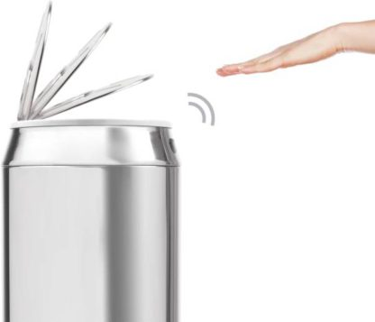 An Image of Sense Can Touch-Free Sensor Bin 42L, Stainless Steel