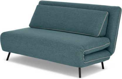 An Image of Kahlo Large Double Sofa Bed, Sherbet Blue