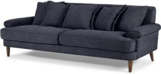 An Image of Eraldo 3 Seater Sofa, Kyoto Denim