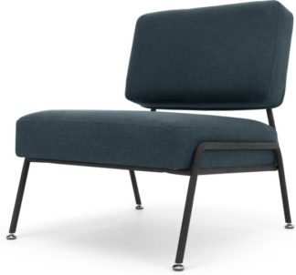 An Image of Knox Accent Armchair, Aegean Blue