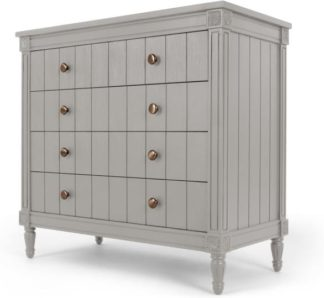 An Image of Bourbon Vintage Chest Of Drawers, Grey