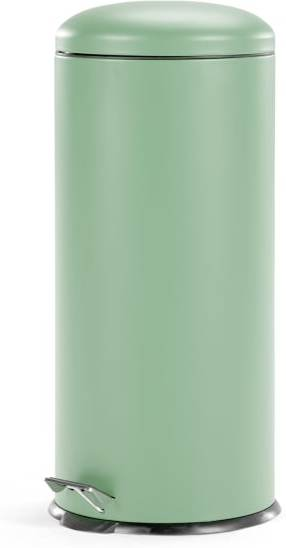 An Image of Joss 30L Domed Pedal Bin, Mint