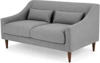 An Image of Herton 2 Seater Sofa, Mountain Grey