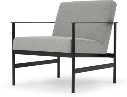 An Image of Alford Accent Armchair. Mountain Grey