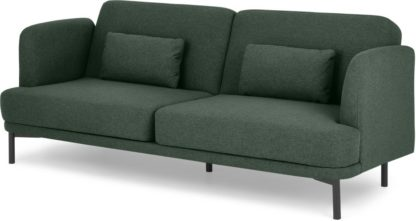 An Image of Herman Click Clack Sofa Bed, Woodland Green