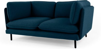An Image of Wes 2 Seater Sofa, Elite Teal
