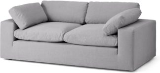 An Image of Samona 2.5 Seater Sofa, Mineral Cotton & Linen Mix