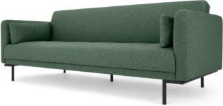An Image of Harlow Click Clack Sofa Bed, Darby Green