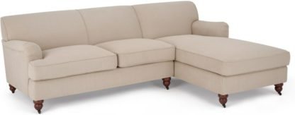 An Image of Orson Right Hand Facing Chaise End Sofa, Natural Weave