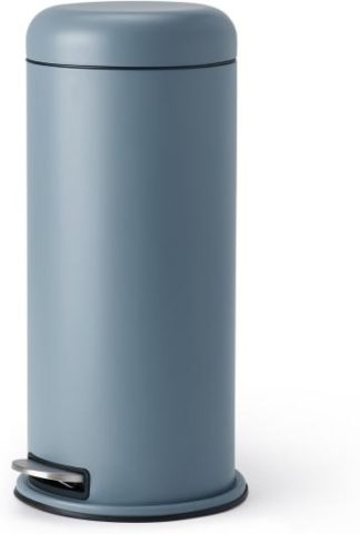 An Image of Minns 30L Domed Bin, Blue