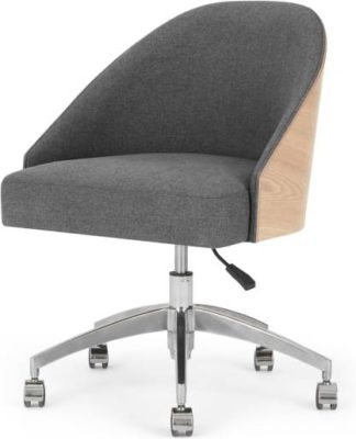 An Image of Fernanda Office Chair, Ash and Marl Grey