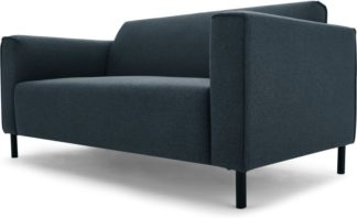 An Image of MADE Essentials Herron 2 Seater Sofa, Aegean Blue