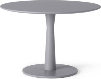 An Image of Bromley 4 seat Dining table, Grey