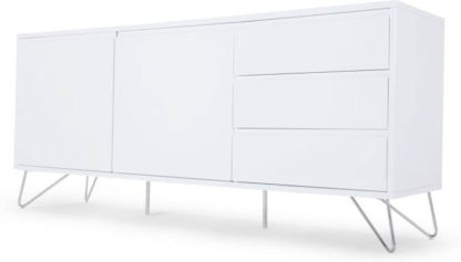 An Image of Elona Sideboard, White Gloss