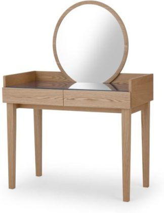 An Image of Xander Dressing Table , Ash & Navy Blue