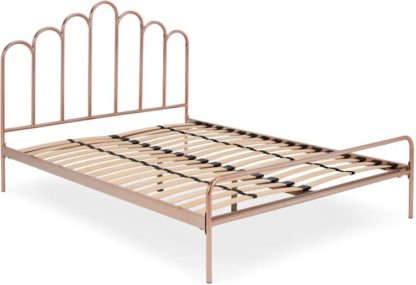 An Image of Kiruna King Size Bed, Copper