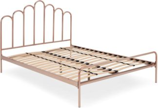 An Image of Kiruna Double Bed, Copper